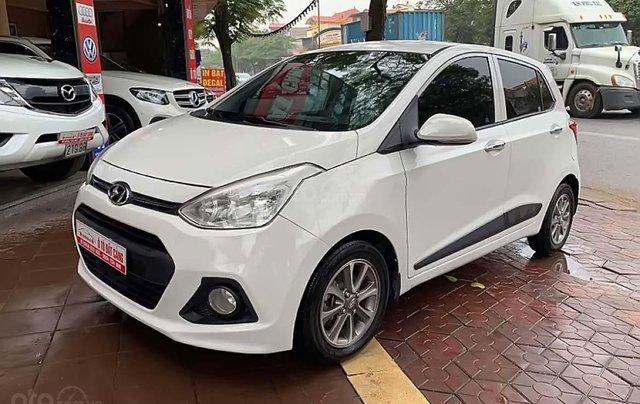 Cần bán Hyundai Grand i10 sản xuất năm 2014, màu trắng, nhập khẩu nguyên chiếc chính hãng0