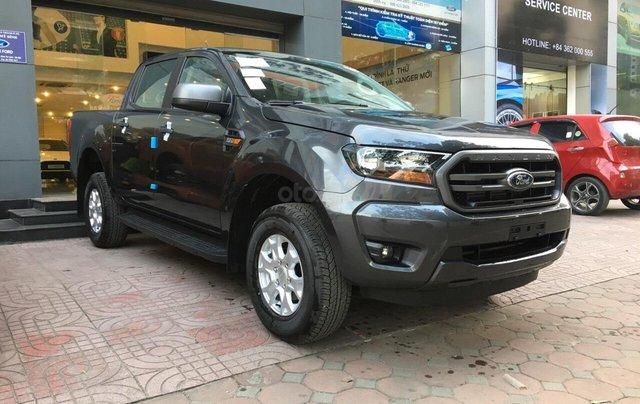 Bán Ford Ranger XLS AT 2019, màu xám (ghi), nhập khẩu chính hãng, giá tốt, cần giao ngay LH 09690166920