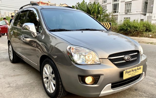 Cần bán xe Kia Carens 2.0 sản xuất 2010, màu xám Full Options4