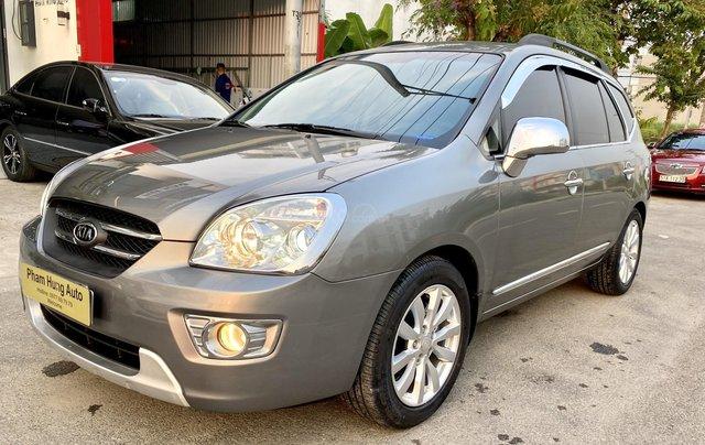 Cần bán xe Kia Carens 2.0 sản xuất 2010, màu xám Full Options5