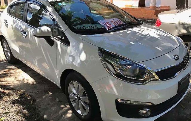 Bán xe Kia Rio 2016, màu trắng, nhập khẩu nguyên chiếc số sàn0
