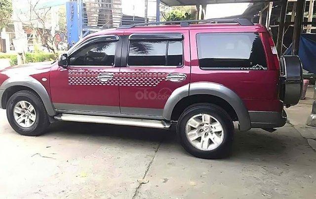 Bán xe Ford Everest MT đời 2008, màu đỏ, máy dầu1