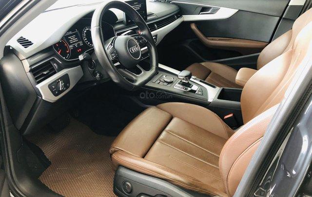 Bán Audi A4 sản xuất 2016 mẫu mới, xe cá nhân ít đi, sử dụng đúng 19.999km, cam kết đúng hiện trạng bao check hãng5