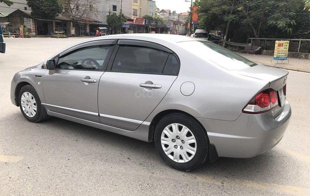 Cần bán Honda Civic 1.8MT đời 2009, màu xám (ghi), form mới, xe cực tuyển2