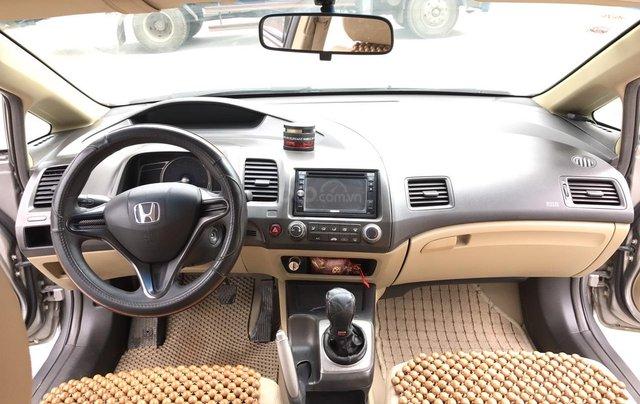 Cần bán Honda Civic 1.8MT đời 2009, màu xám (ghi), form mới, xe cực tuyển4