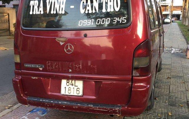 Cần bán lại xe Mercedes MB năm 2003, màu đỏ, 70 triệu3