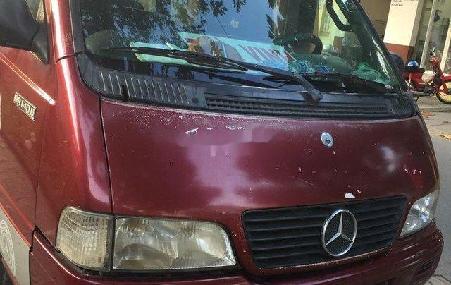 Cần bán lại xe Mercedes MB năm 2003, màu đỏ, 70 triệu0