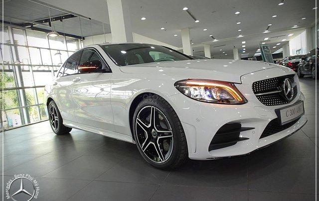 Mercedes-Benz C300 AMG New - thuế TB 5%- Bank 80% - trả trước 480 triệu nhận xe 0