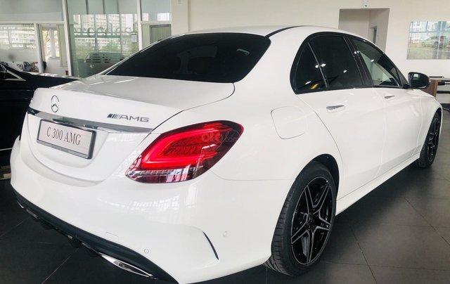 Mercedes-Benz C300 AMG New - thuế TB 5%- Bank 80% - trả trước 480 triệu nhận xe 1