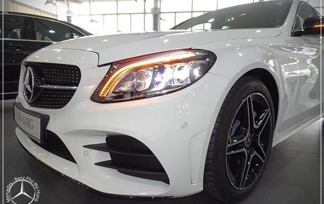 Mercedes-Benz C300 AMG New - thuế TB 5%- Bank 80% - trả trước 480 triệu nhận xe 2