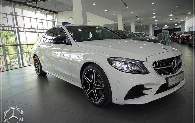 Mercedes-Benz C300 AMG New - thuế TB 5%- Bank 80% - trả trước 480 triệu nhận xe 11