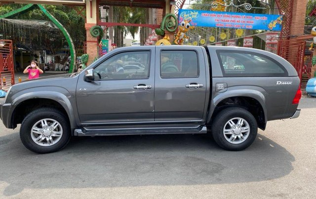 Xe Isuzu Dmax năm sản xuất 2011, màu xám, xe nhập0