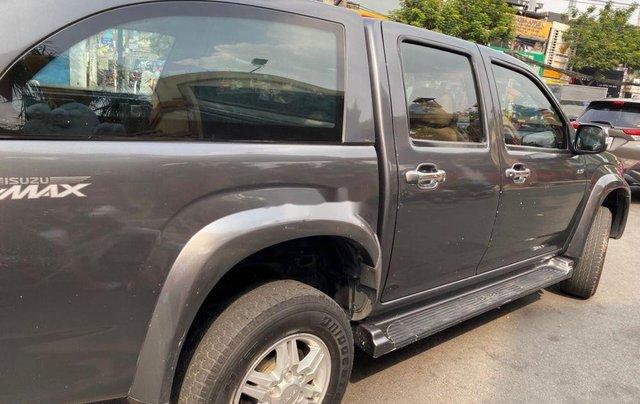 Xe Isuzu Dmax năm sản xuất 2011, màu xám, xe nhập3