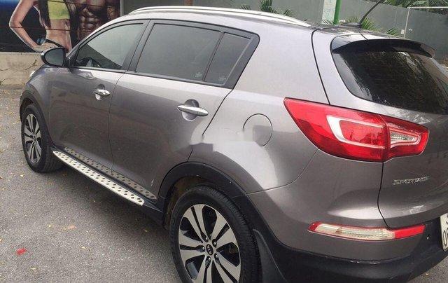 Cần bán Kia Sportage sản xuất 2010, màu xám, nhập khẩu, chính chủ2