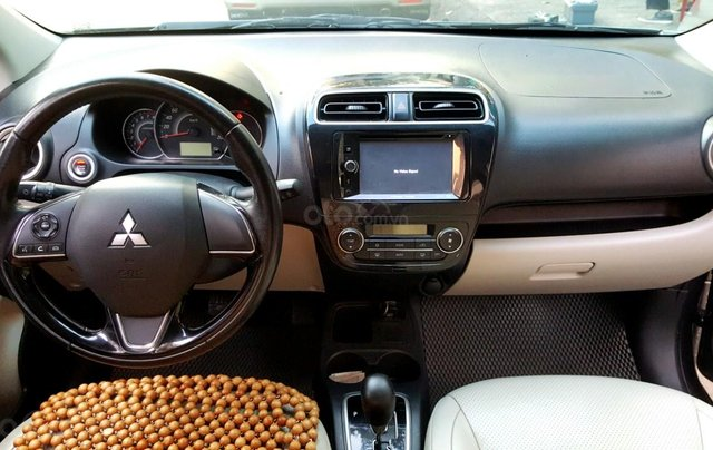 Bán Mitsubishi Attrage AT đời 2017, màu bạc, nhập khẩu nguyên chiếc, giá chỉ 378 triệu9