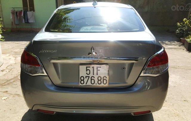 Bán Mitsubishi Attrage AT đời 2017, màu bạc, nhập khẩu nguyên chiếc, giá chỉ 378 triệu6