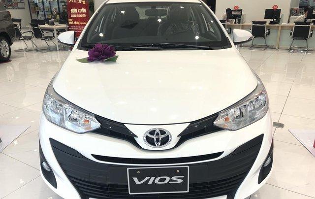 Toyota Vios 2020, tặng 1N bảo hiểm thân xe, đủ màu, giao ngay, 145tr có xe0