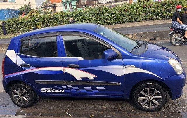 Cần bán gấp Kia Picanto đời 2006, màu xanh lam, xe nhập số tự động, 168tr1