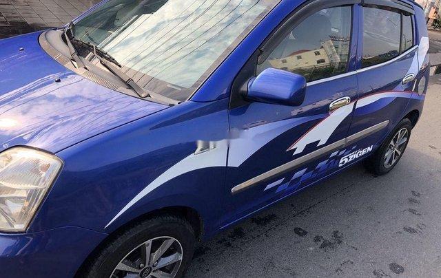 Cần bán gấp Kia Picanto đời 2006, màu xanh lam, xe nhập số tự động, 168tr2