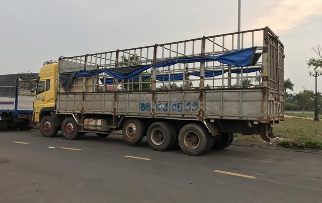 Bán xe Dongfeng 5 chân đời 2015 tải trọng 22 tấn xe đẹp không lỗi3