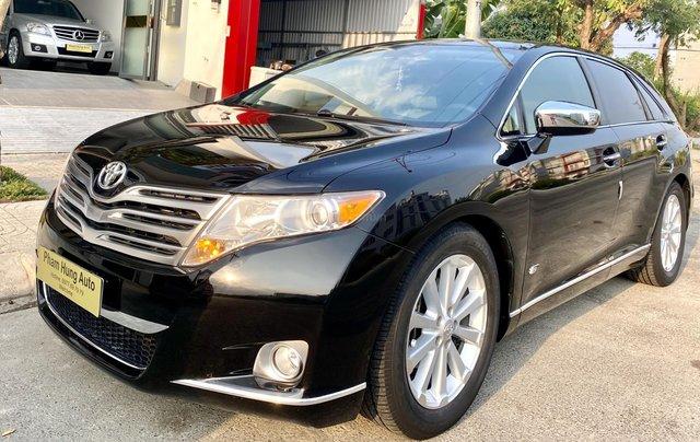 Bán ô tô Toyota Venza 2.7 sản xuất 2009, màu đen, nhập khẩu nguyên chiếc, giá chỉ 738 triệu5