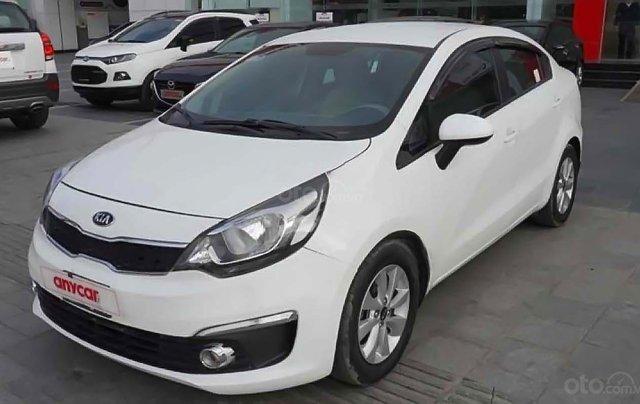 Cần bán xe Kia Rio 1.4 MT sản xuất 2016, màu trắng, xe nhập chính chủ0