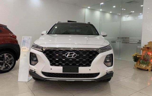 Hyundai Cầu Diễn - Bán Hyundai Santa Fe 2020 dầu cao cấp, tặng 10 triệu, nhiều ưu đãi0