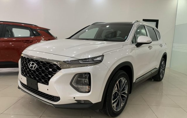 Hyundai Cầu Diễn - Bán Hyundai Santa Fe 2020 dầu cao cấp, tặng 10 triệu, nhiều ưu đãi1