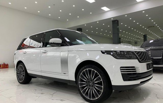 Bán xe LandRover Range Rover Autobiography LWB đời 2020, màu trắng, nhập khẩu nguyên chiếc0