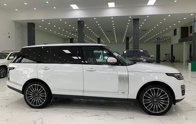 Bán xe LandRover Range Rover Autobiography LWB đời 2020, màu trắng, nhập khẩu nguyên chiếc3