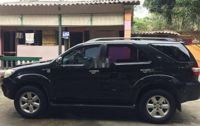 Cần bán lại xe Toyota Fortuner năm sản xuất 2009, màu đen, giá 380tr0