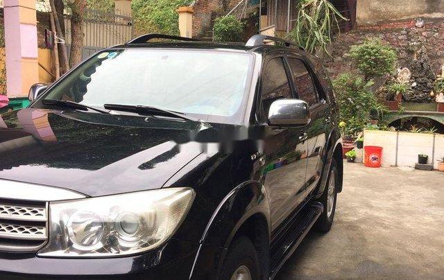 Cần bán lại xe Toyota Fortuner năm sản xuất 2009, màu đen, giá 380tr9
