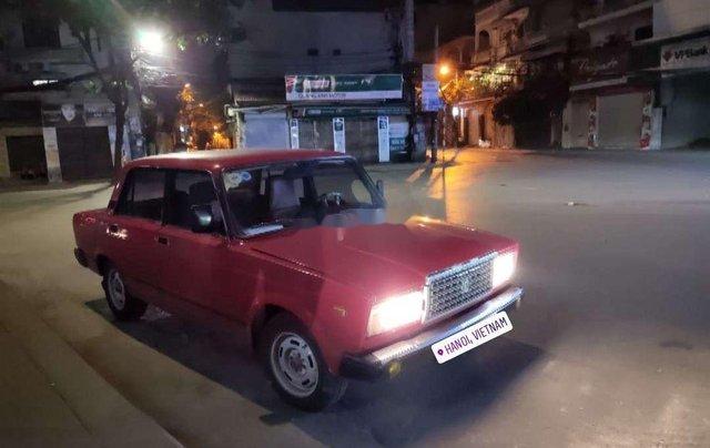 Bán xe Lada 2107 đời 1987, màu đỏ, xe nhập1