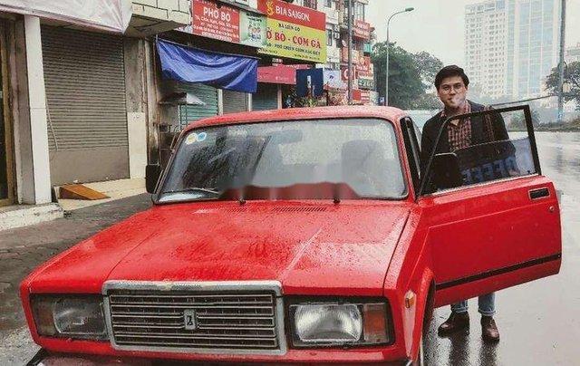 Bán xe Lada 2107 đời 1987, màu đỏ, xe nhập2