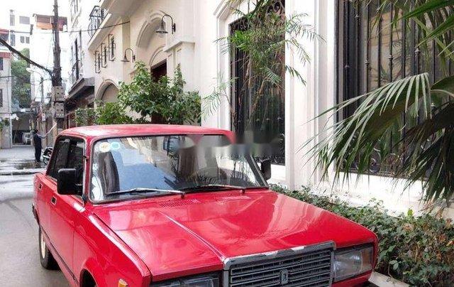 Bán xe Lada 2107 đời 1987, màu đỏ, xe nhập0