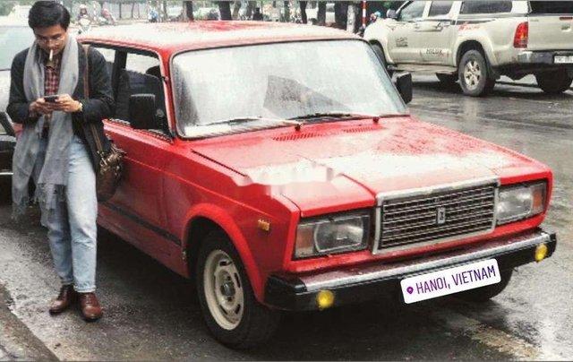 Bán xe Lada 2107 đời 1987, màu đỏ, xe nhập3