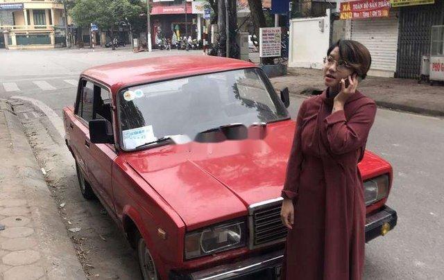 Bán xe Lada 2107 đời 1987, màu đỏ, xe nhập6