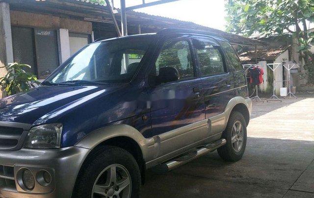 Bán Daihatsu Terios 2005, màu xanh lam, xe nhập  8