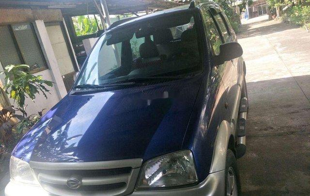 Bán Daihatsu Terios 2005, màu xanh lam, xe nhập  0
