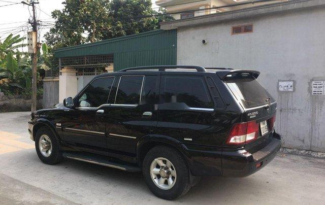 Xe Ssangyong Musso năm sản xuất 2005, màu đen3