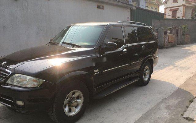 Xe Ssangyong Musso năm sản xuất 2005, màu đen2