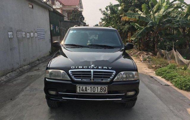 Xe Ssangyong Musso năm sản xuất 2005, màu đen0