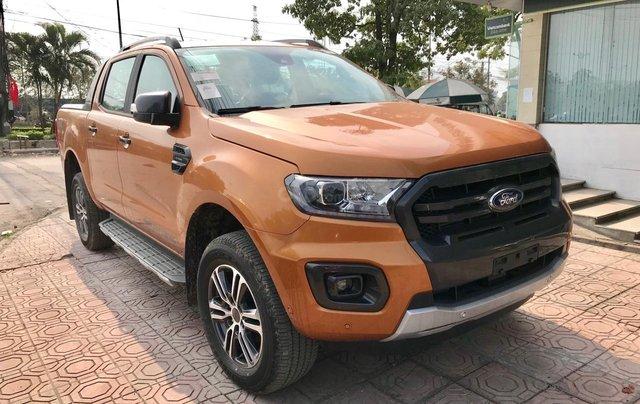 Ford Ranger Wildtrak 2020, đủ màu, giá ký giao ngay cực tốt, vay trả góp, chỉ cẩn 200 triệu lăn bánh, thủ tục nhanh1