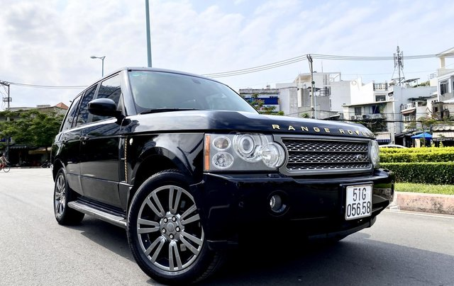 Range Rover HSE nhập Anh 2009 màu đen, loại thùng to, hàng full cao cấp, đủ đồ chơi không thiếu món nào, cửa sổ trời, cốp điện0