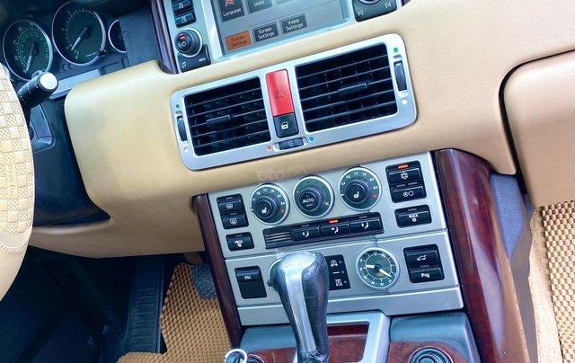 Range Rover HSE nhập Anh 2009 màu đen, loại thùng to, hàng full cao cấp, đủ đồ chơi không thiếu món nào, cửa sổ trời, cốp điện8
