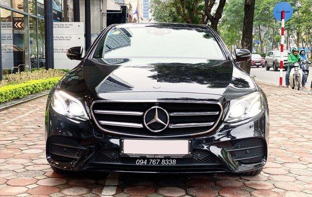 Xe lướt chính hãng - Mercedes E300 2020, màu đen, chạy 3.600km, giá cực tốt1
