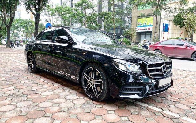 Xe lướt chính hãng - Mercedes E300 2020, màu đen, chạy 3.600km, giá cực tốt2