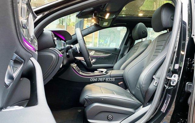 Xe lướt chính hãng - Mercedes E300 2020, màu đen, chạy 3.600km, giá cực tốt3