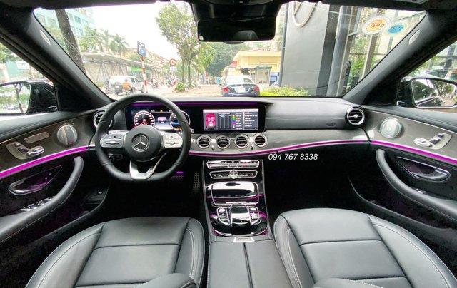 Xe lướt chính hãng - Mercedes E300 2020, màu đen, chạy 3.600km, giá cực tốt7