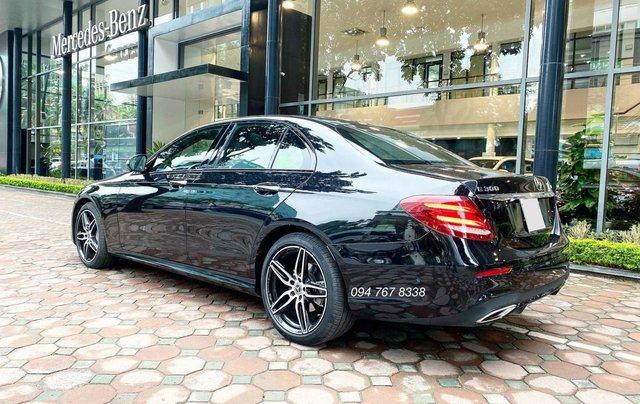 Xe lướt chính hãng - Mercedes E300 2020, màu đen, chạy 3.600km, giá cực tốt9
